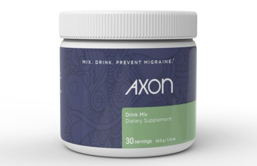 Axon Migraine Supplement - Front Label
